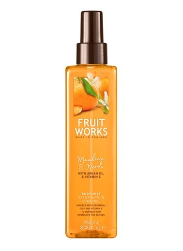 Fruit Works Mandarin & Neroli Vücut Spreyi 250 ml Renksiz